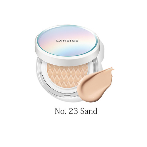 LANEIGE BB Cushion(Pore Control) SPF50+ PA+++ No23 Sand 15g+ Refill 15g (weight : 190g)