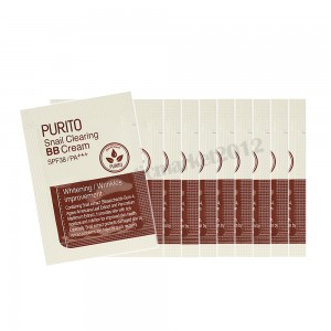 PURITO Snail Clearing BB Cream SPF38/PA++ Sample 10Pcs (weight : 40g)