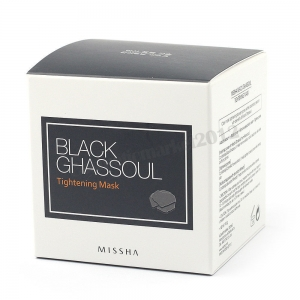 MISSHA Black Ghassoul Tightening Mask 95g
