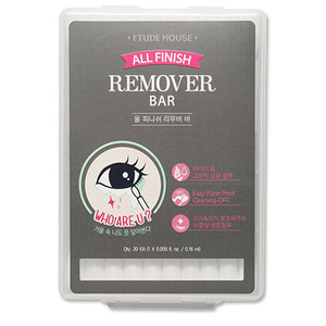 Etude House All Finish Remover Bar 20ea (1x0.16ml) (weight : 80g)