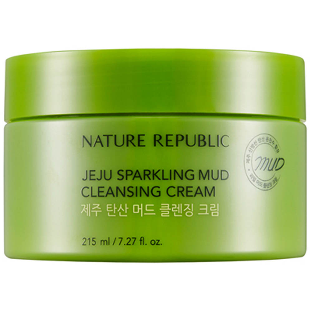 Welcome To For Korea Make Up Skin Nature Republic Bath Body Lotion Apple Mango Product Jeju Sparkling Mud Cleansing Cream 215ml Weight 340g
