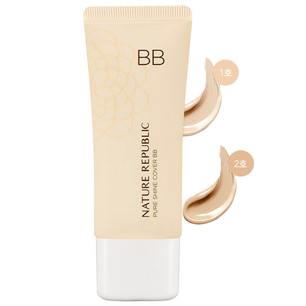 Nature Republic Pure Shine Cover BB SPF35 PA++ 35g (weight : 90g)