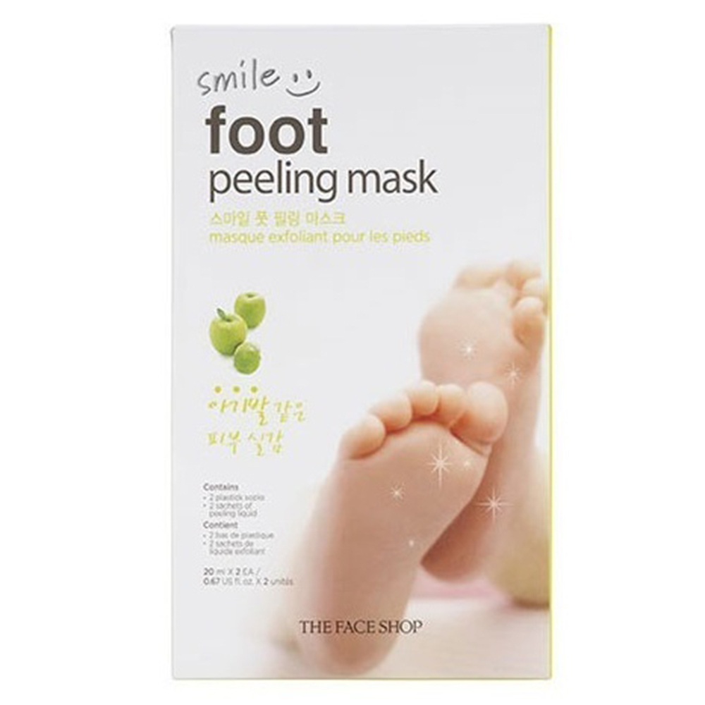 THE FACE SHOP Smile Foot Peeling mask 1pack
