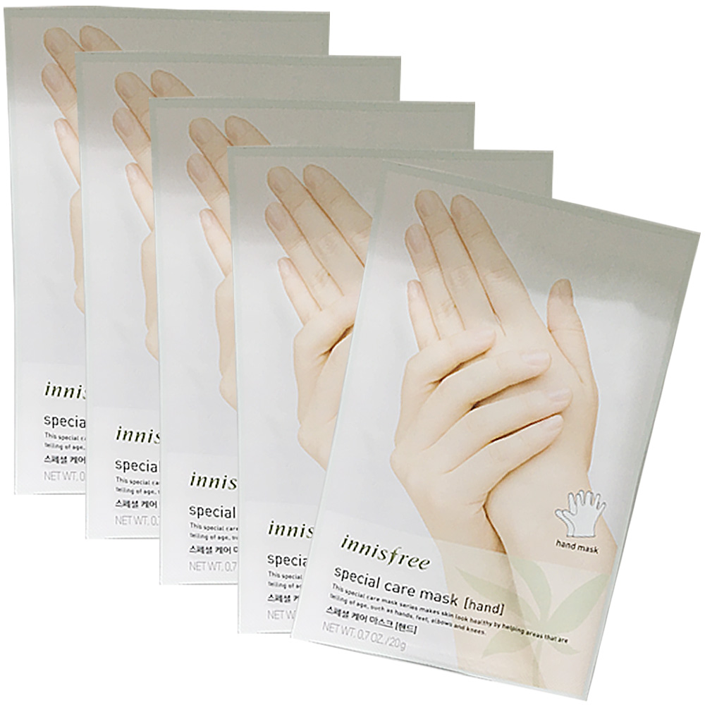 Innisfree Special Care Mask Sheet 5pcs # Hand