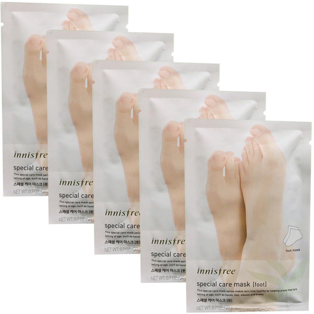 Innisfree Special Care Mask Sheet 5pcs # Foot