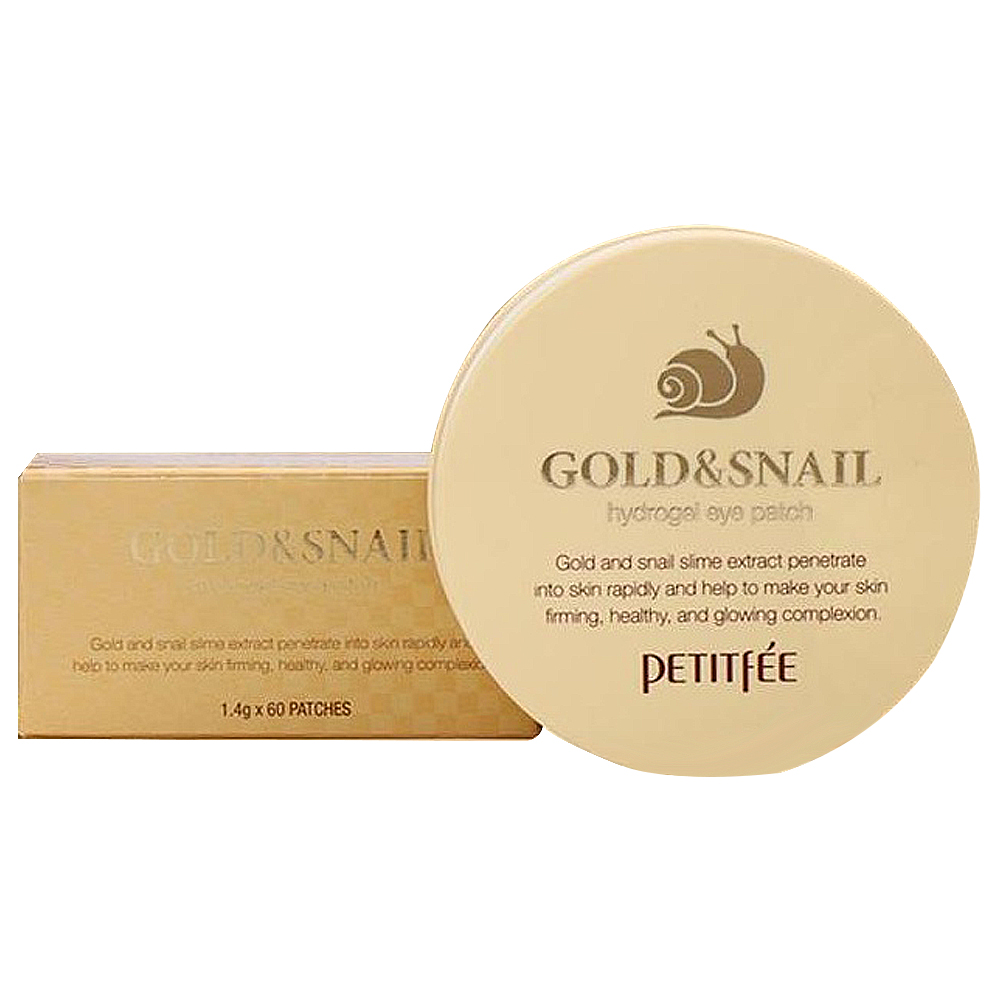 PETITFEE Gold & Snail Hydrogel Eye patch 1.4g x 60ea