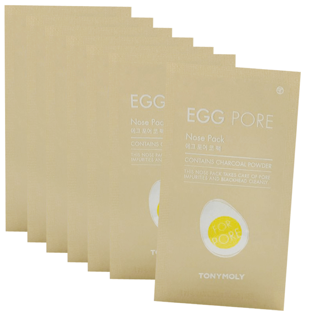 TONYMOLY Egg Pore Nose Pack 7 Sheets (weight : 40g)