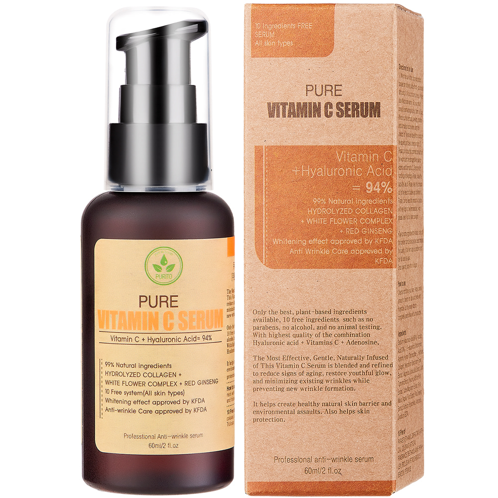 PURITO Pure Vitamin C Serum 60ml (weight : 140g)