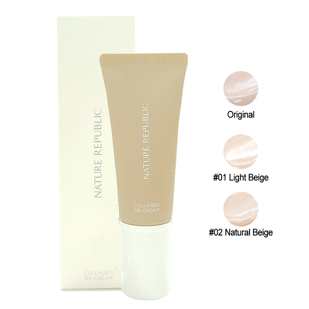 Nature Republic Nature Origin Collagen BB Cream SPF25 PA++ 45g (weight : 130g)