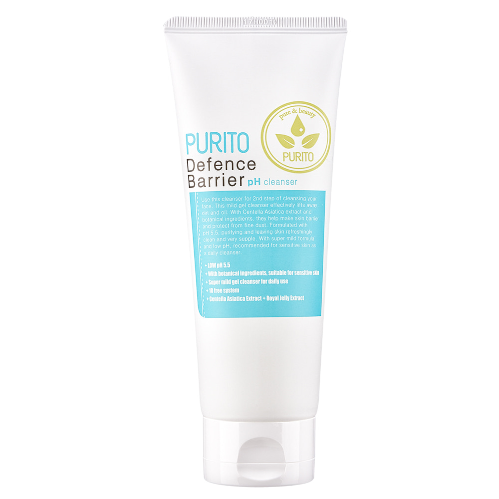 PURITO Defence Barrier Ph Cleanser 150ml (weight : 200g)