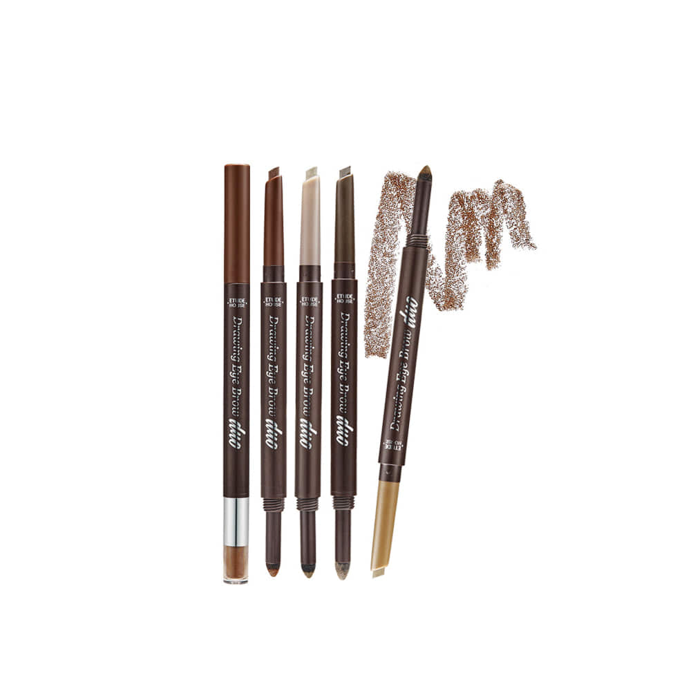 Welcome To For Korea Make Up Skin Etude House Styling Eyeliner Product Drawing Eye Brow Duo 08g Weight 50g