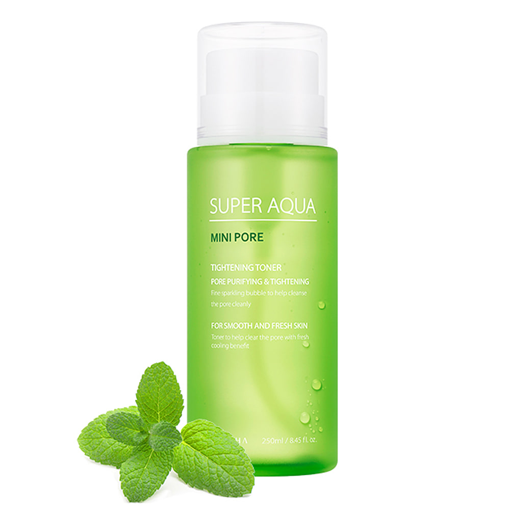 MISSHA Super Aqua Mini Pore Tightening Toner 250ml (weight : 350g)