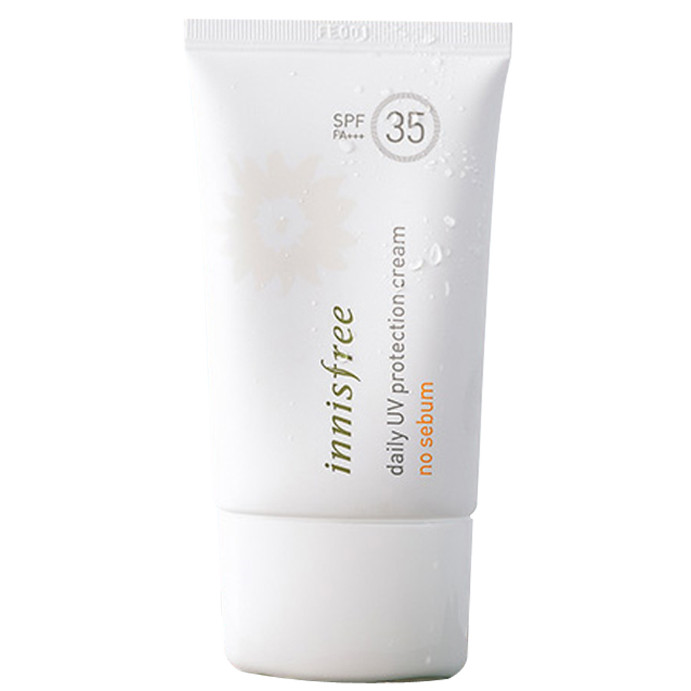 Innisfree Daily UV Protection Cream No Sebum SPF35 PA+++ 50ml (weight : 100g)